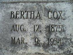 Bertha Thelma <I>Cox</I> Leake