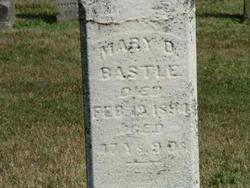 Mary D. <I>Gloyd</I> Bastle