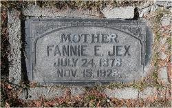 Fannie Elizabeth <I>Hewitt</I> Jex