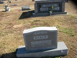 steve martin baker 19601981 find a grave memorial