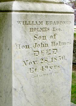 William Bradford Holmes