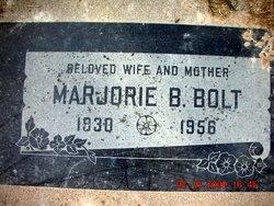 Marjorie <I>Brimhall</I> Bolt