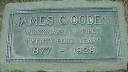 Rev James Clarence Ogden