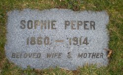 Sophie <I>Settje</I> Peper