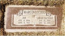 Sarah <I>Falsone</I> Marcovecchio
