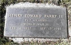 Henry Edward Parry, III