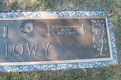 Ruby Lee <I>Mitchell</I> Lowy