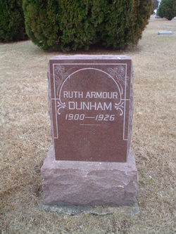 Ruth Lucille <I>Armour</I> Dunham