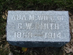 "Ada Martha ""Addie"" <I>Allen</I> Smith"