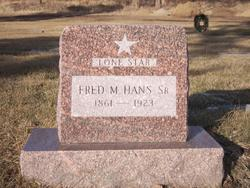 """Fred M. """"Lone Star"""" Hans, Sr"""