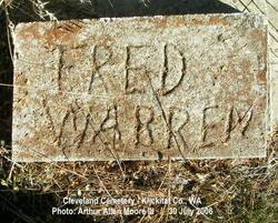 """Joseph Frederick """"Fred"""" Warren"""