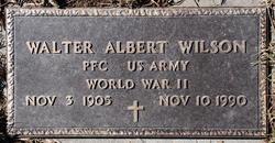 Walter Albert Wilson