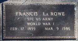 "Francis ""Frank"" LaRowe"