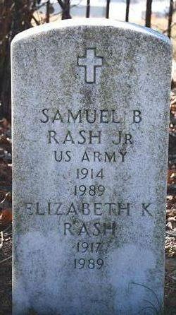 Samuel B Rash Jr.