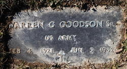Warren G. Goodson Sr.
