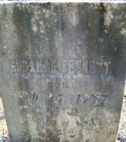 Susannah <I>Dunn</I> Bennett