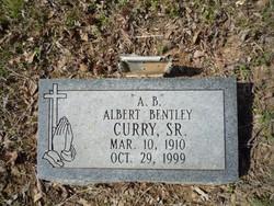 """Albert Bentley """"A. B."""" Curry"""