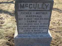M Louise <I>McCully</I> Bickell