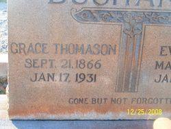 Grace <I>Thomason</I> Buchanan