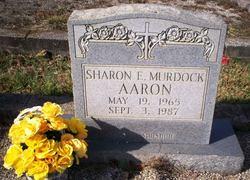 Sharon E <I>Murdock</I> Aaron