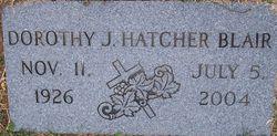 Dorothy Jean <I>Hatcher</I> Blair