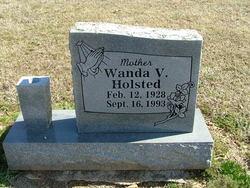 Wanda V <I>Brooks</I> Holsted