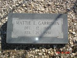 Mattie Ether <I>Whitwell</I> Garrison