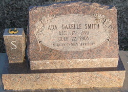 Ada Gazelle <I>Hartley</I> Smith