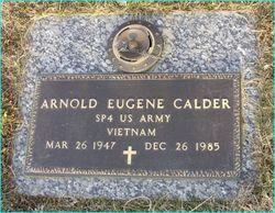 "Arnold Eugene ""Gene"" Calder"