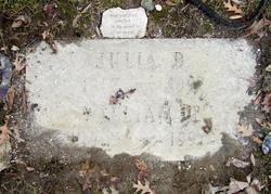 Julia May <I>Dillon</I> Berghold