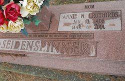 Annie N. <I>Saucier</I> Seidenspinner Cruthirds