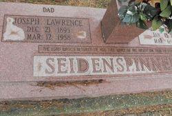 Joseph Lawrence Seidenspinner, Jr
