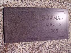Ashford Everett Bowman