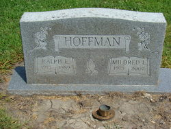 Mildred Louise <I>Lane</I> Hoffman