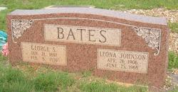 Leona <I>Johnson</I> Bates