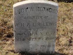 Lucy W <I>Lewis</I> Redmond