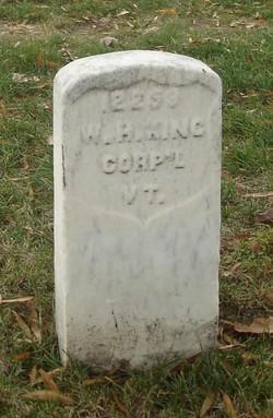 Corp William H King