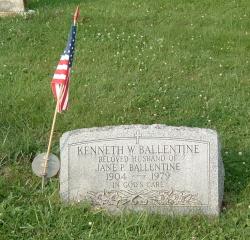 Kenneth Welsh Ballentine