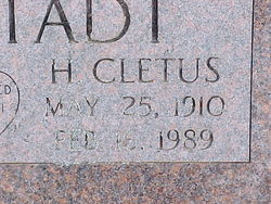 H Cletus Hohstadt
