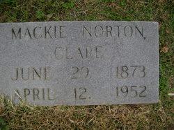 Mackie <I>Norton</I> Clare