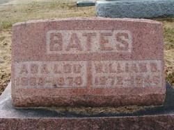 Ada Lou <I>Hicks</I> Bates