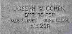 Joseph W Cohen