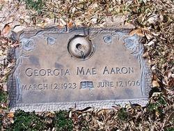 Georgia Mae <I>Fowler</I> Aaron