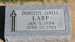 Dorothy JaNell Earp