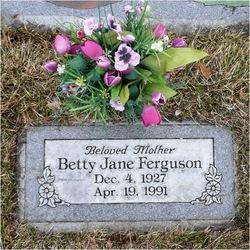Betty Jane <I>Mitchelson</I> Ferguson