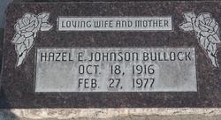 Hazel Elaine <I>Johnson</I> Bullock