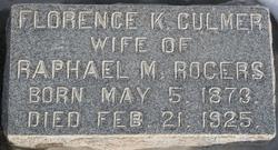 Florence Kennett <I>Culmer</I> Rogers