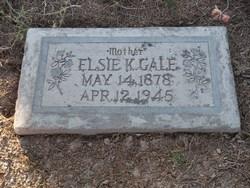Elsie <I>Kartchner</I> Gale