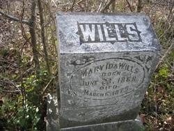 Mary Ida Wills
