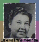 Elsie Valentine <I>Fowler</I> Meecham